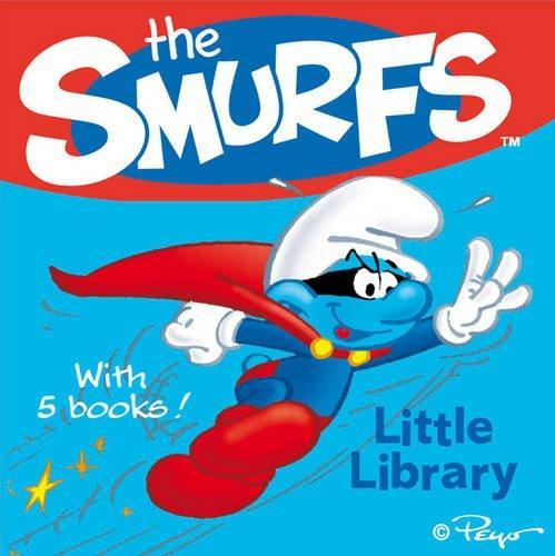 Smurfs Little Library - 6 Books - Ages 0-5 - Board Book - Simon & Schuster - Books2Door