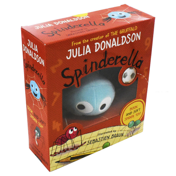 Spinderella Book & Plush Set - Ages 0-5 - Paperback - Julia Donaldson - Books2Door