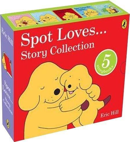 Spot Loves Story Collection 5 Books Box Set 0-5 Puffin