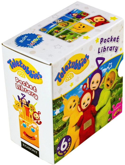 Teletubbies Pocket Library 6 Book Collection - Ages 0-5 - Board Books - Books2Door
