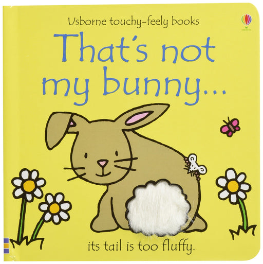 That's Not My Bunny Board Book – Age 0-5 – Hardback by Fiona Watt 0-5 Usborne