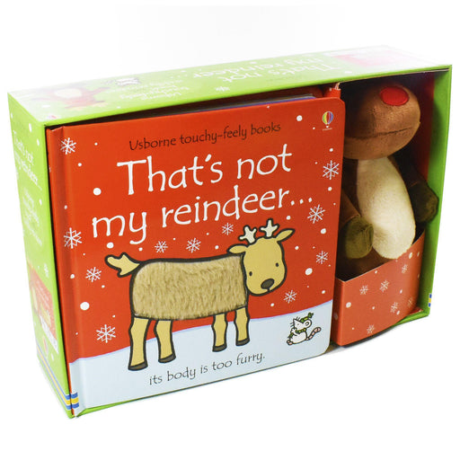 That's not my Reindeer and Toy - Ages 0-5 - Board Books - Fiona Watt - Books2Door