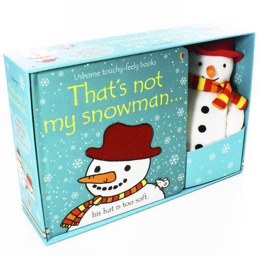 That's Not My Snowman Book and Toy - Ages 0-5 - Board Books - Fiona Watt - Books2Door