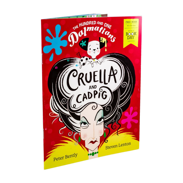 The Hundred and One Dalmatians: Cruella and Cadpig WBD 2019 - Ages 0-5 - Paperback - Peter Bently - Books2Door