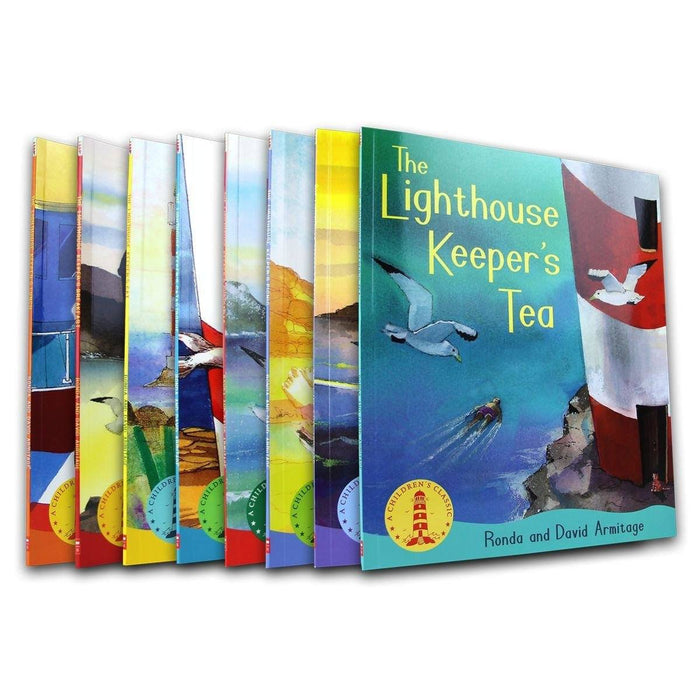 The Lighthouse Keeper 8 Books Collection - Cozy Mystery - Paperback - Ronda Armitage - Books2Door