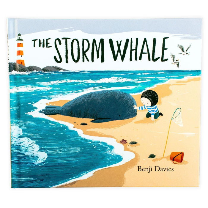 The Storm Whale Book & Soft Toy - Ages 0-5 - Hardback - Benji Davies 0-5 Simon & Schuster