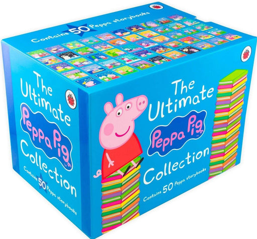 The Ultimate Peppa Pig Collection 50 Books Box Set - Ages 0-5 - Paperback - Ladybird 0-5 Penguin