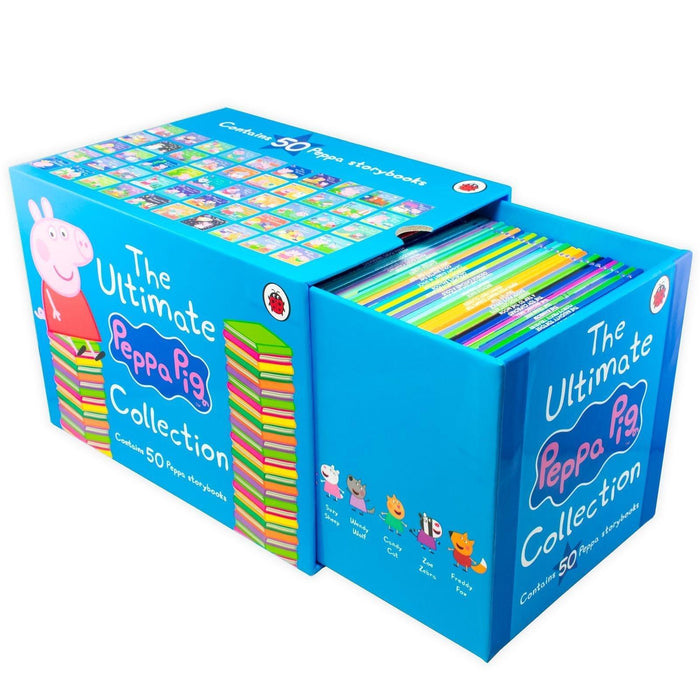 The Ultimate Peppa Pig Collection 50 Books Box Set - Ages 0-5 - Paperback - Ladybird - Books2Door