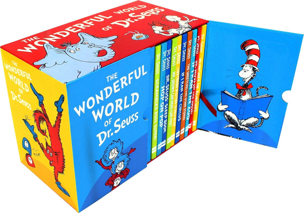 The Wonderful World of Dr. Seuss 20 Books Box Set - Ages 0-5 - Hardback - Books2Door