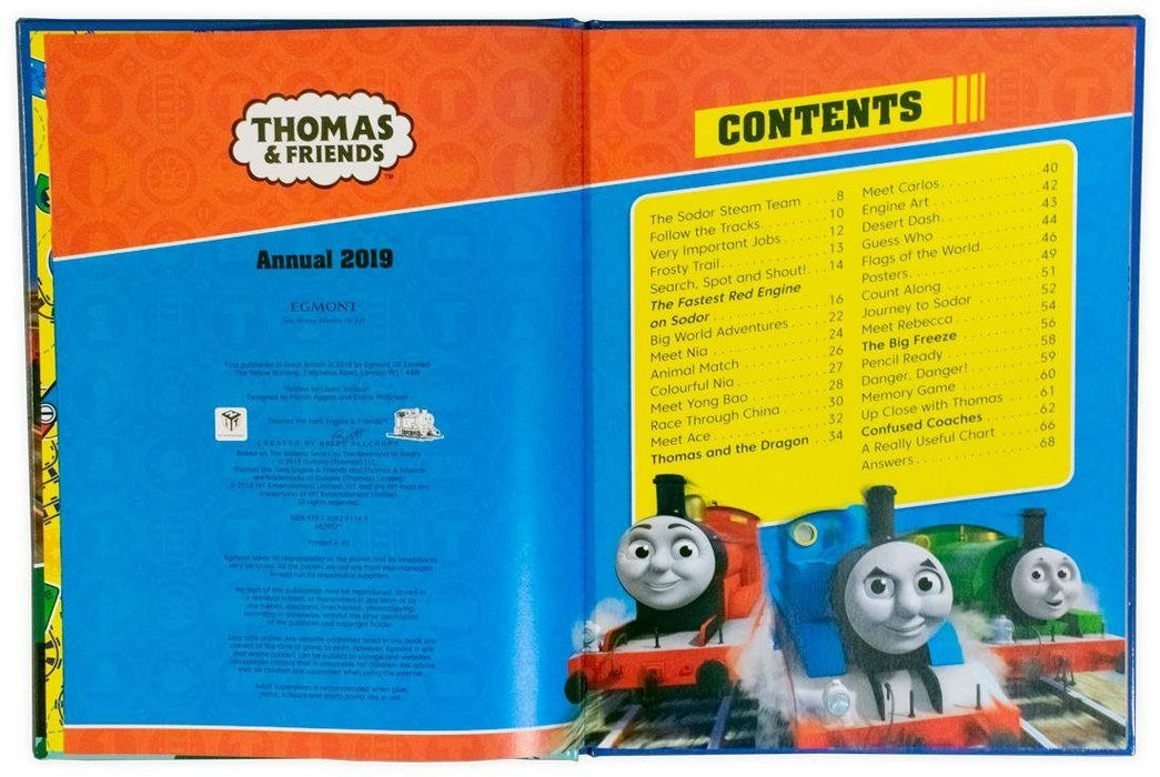 Thomas and Friends Annual 2019 - Ages 0-5 - Hardback - Books2Door