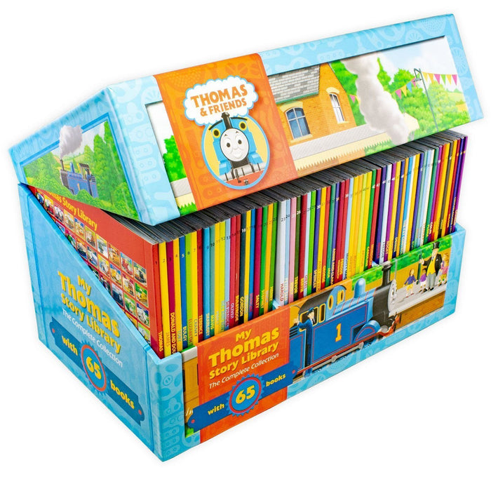 Thomas and Friends The Complete Collection 65 Book Box Set - Ages 0-5 - Paperback - Egmont - Books2Door