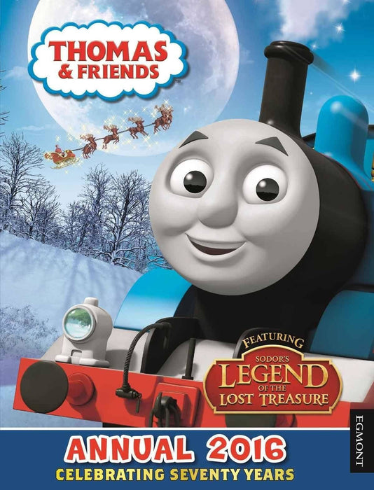 Thomas & Friends Annual 2016 - Ages 0-5 - Hardback - Egmont - Books2Door