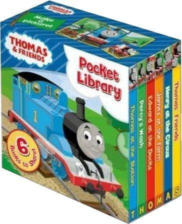 Thomas & Friends Pocket Library 6 Board Books - Ages 0-5 - Board Books - Rev. W. Awdry - Books2Door