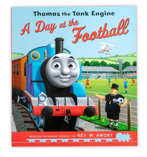 Thomas the Tank Engine: A Day at the Football - Books2Door