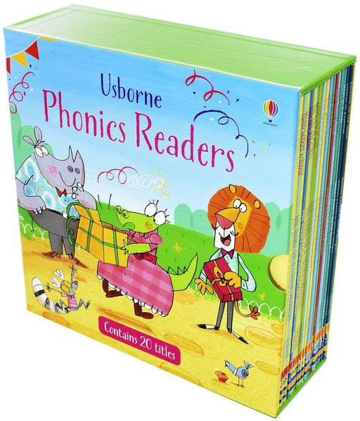 Usborne Phonics Readers 20 Books - Ages 0-5 - Paperback - Books2Door