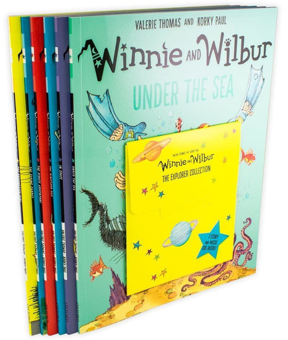 Winnie and Wilbur The Explorer 6 Book Collection with CDs - Books2Door