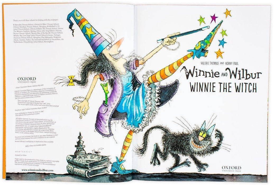 Winnie and Wilbur The Spooky 6 Book Collection with CDs - Books2Door