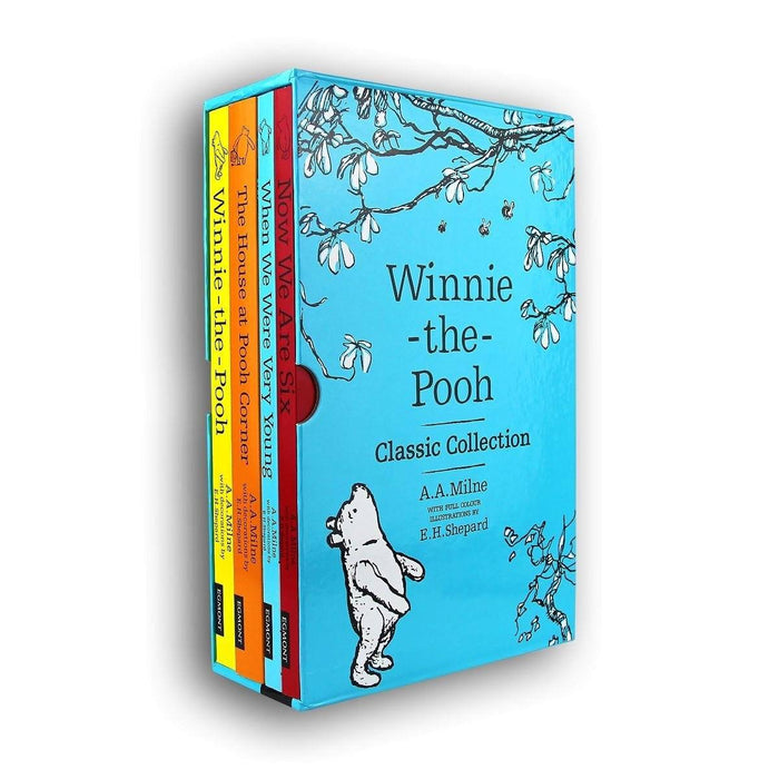 Winnie The Pooh Classic 4 Books Slipcase Edition - Ages 0-5 - Paperback - A. A. Milne - Books2Door