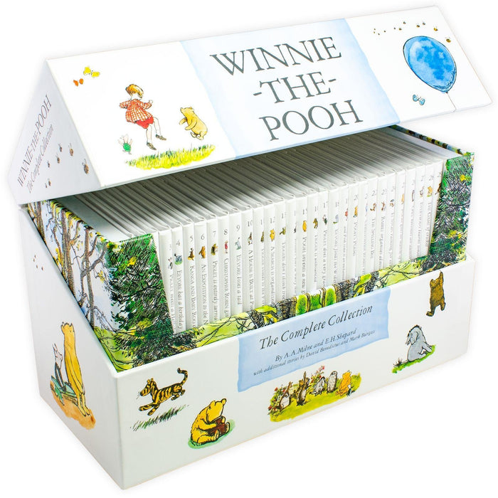 Winnie the Pooh Complete Collection 30 Books Box Set - Ages 0-5 - Hardback - A. A. Milne - Books2Door