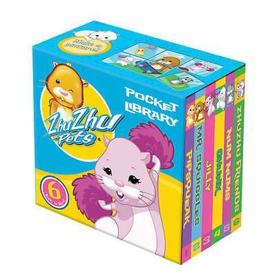 Zhu Zhu Pets Pocket Library 6 Books - Ages 0-5 - Board Book - Egmont - Books2Door