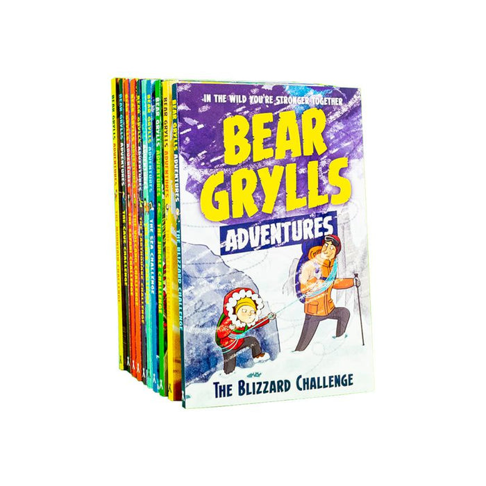 Bear Grylls Adventure Series 10 Book Collection - Ages 7-9 - Paperback - Books2Door