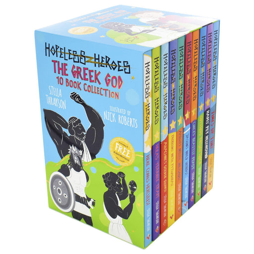Hopeless Heroes: The Greek God 10 Books Collection - Ages 7-9 - Paperback - Stella Tarakson 7-9 Sweet Cherry Publishing