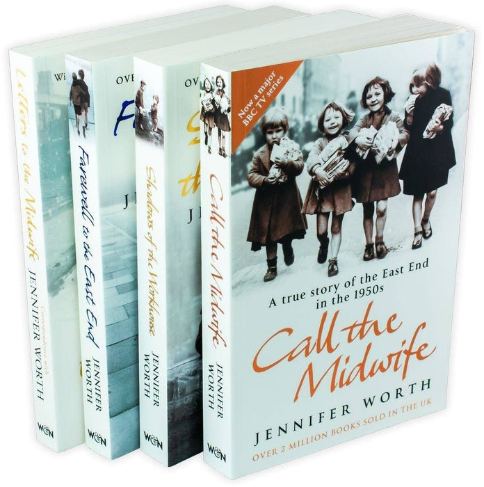Call the Midwife 4 Book Set - Ages 14-16 - Paperback -  Jennifer Worth - Books2Door
