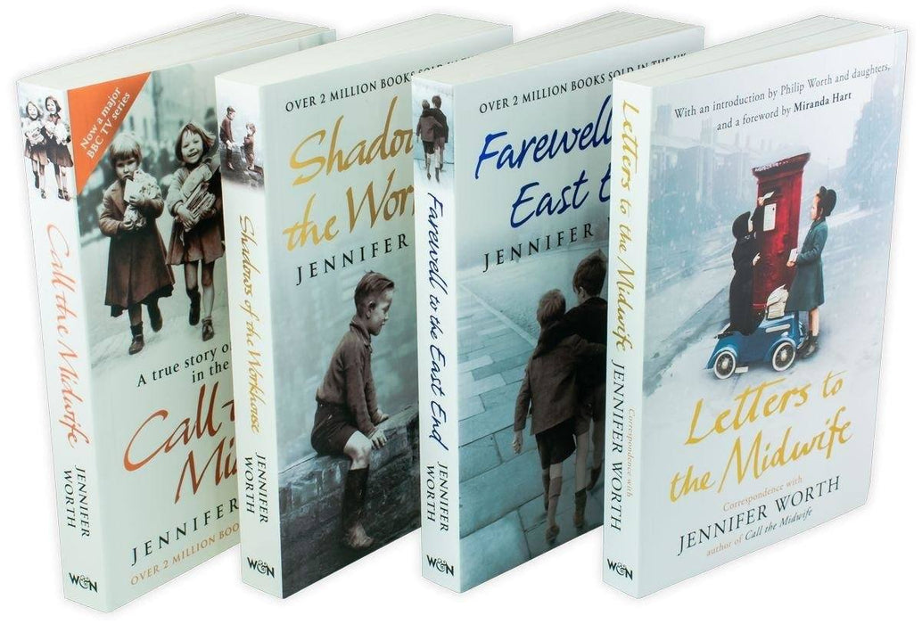 Call the Midwife 4 Book Set - Young Adult - Paperback - Jennifer Worth - Books2Door