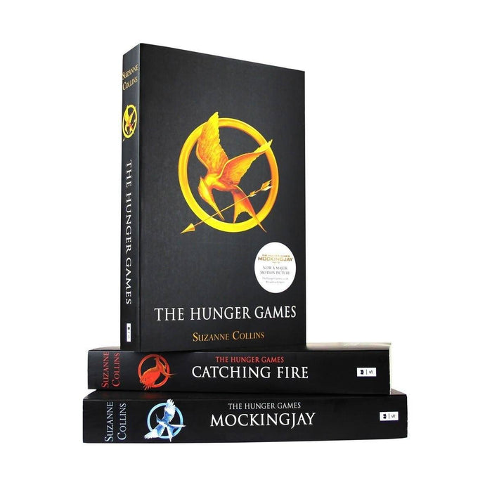 Hunger Games 3 Books Black - Young Adult - Paperback - Suzanne Collins Young Adult Scholastic