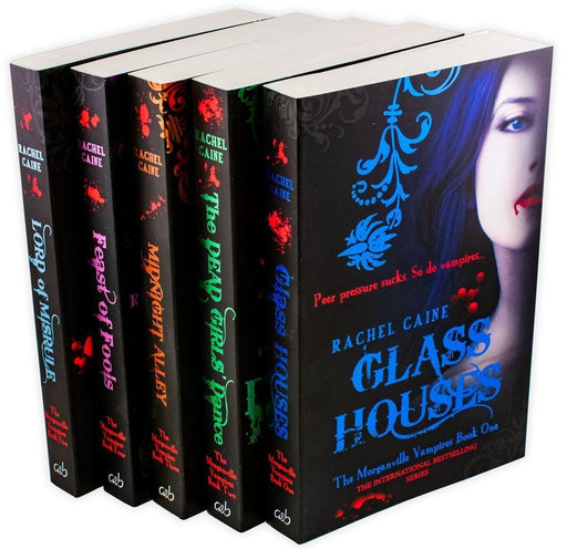 Morganville Vampires Series 1 (1-5) Collection 5 Books - Urban Fantasy - Paperback - Rachel Caine - Books2Door