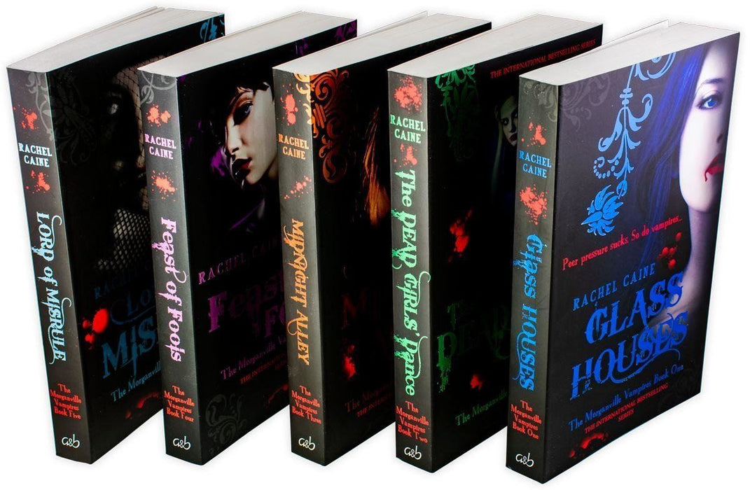 Morganville Vampires Series 1 (1-5) Collection 5 Books - Young Adult - Paperback - Rachel Caine - Books2Door