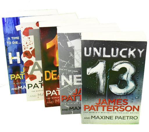 Murder Club Books 11 - 15 (5 Books) - Ages 14-16 - Paperback - James Patterson - Books2Door