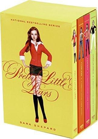 Pretty Little Liars Series 1 - 4 Books Box Set - Ages 14-16 - Paperback - Sara Shepard - Books2Door