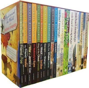 Read Around the World with Michael Morpurgo 20 Books Box Set - Young Adult - Paperback - Books2Door