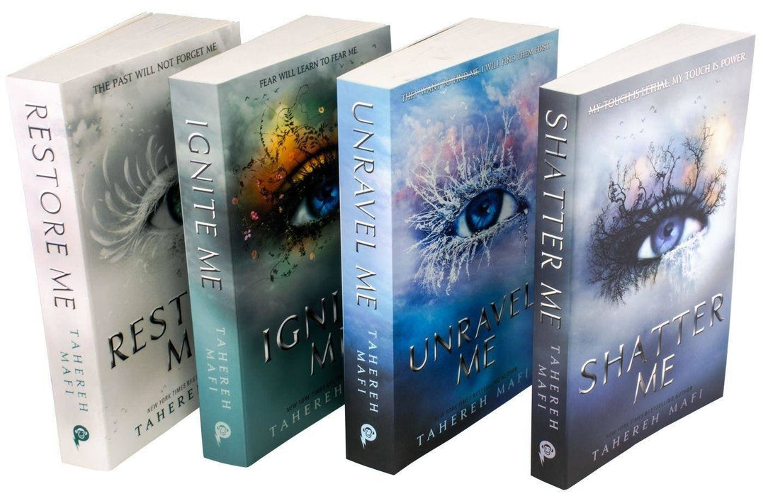 Shatter Me Series 4 Books Set - Young Adult - Paperback - Tahereh Mafi - Books2Door