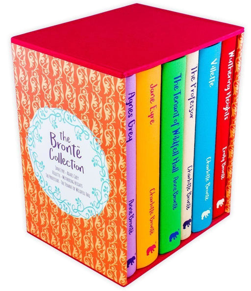 The Bronte Collection 6 Book Set - Ages 14-16 - Cloth Bound Hardback - Anne Bronte, Emily Bronte & Charlotte Bronte - Books2Door