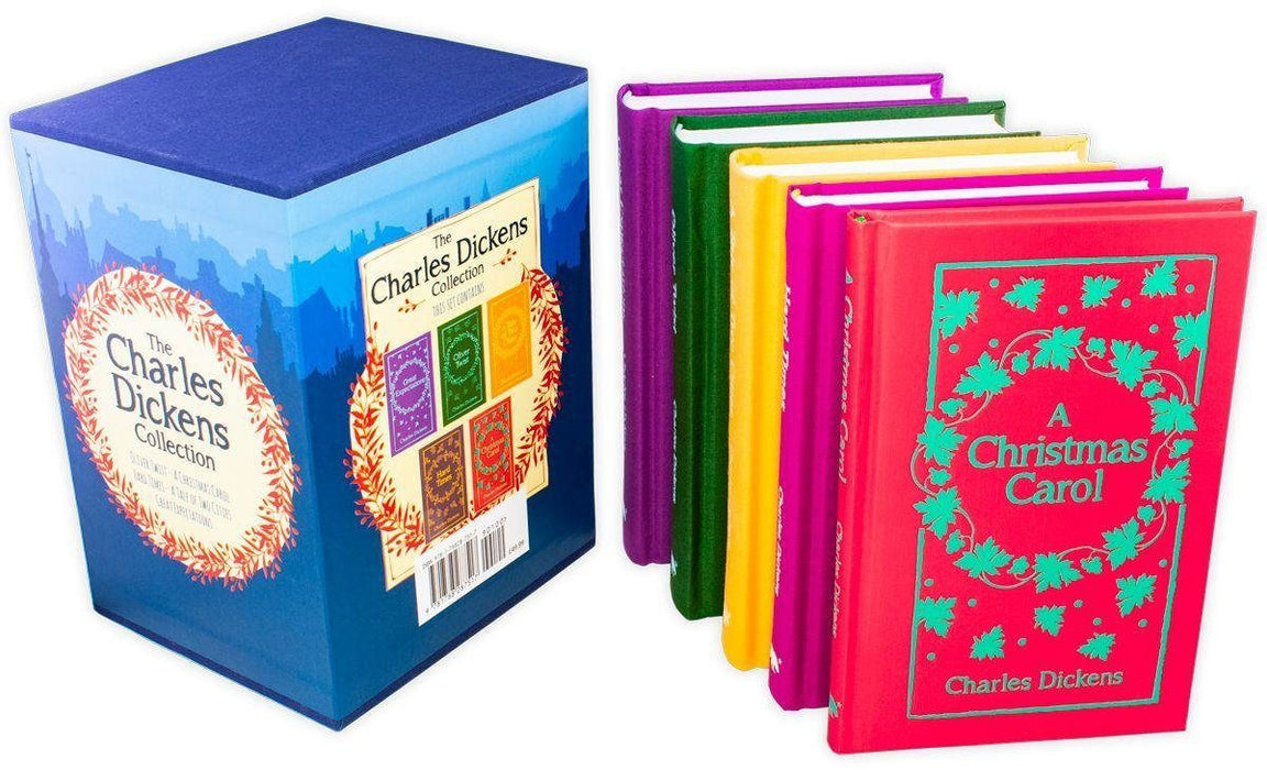 The Charles Dickens Collection 5 Books Set - Ages 14-16 - Hardback - Books2Door