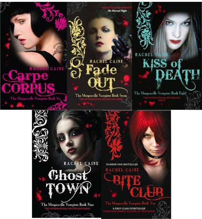 The Morganville Vampires Collection 5 Books Set Series 2 - Young Adult - Paperback - Rachel Caine - Books2Door