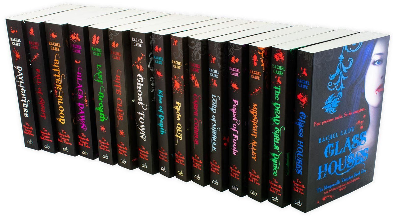 The Morganville Vampires Series Collection 15 Books Set - Young Adult - Paperback - Rachel Caine Young Adult Allison & Busby