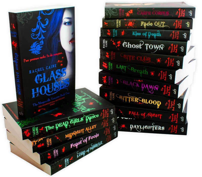 The Morganville Vampires Series Collection 15 Books Set - Young Adult - Paperback - Rachel Caine - Books2Door