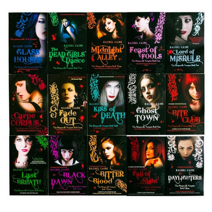 The Morganville Vampires Series Collection 15 Books Set - Ages 14-16 - Paperback - Rachel Caine - Books2Door