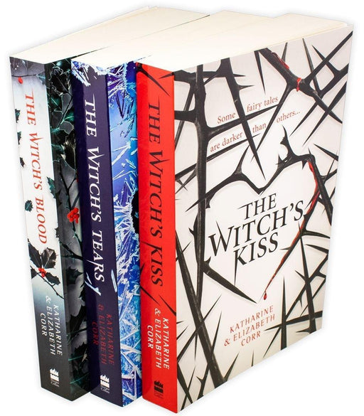 The Witch's Kiss Trilogy 3 Book Collection - Ages 14-16 - Paperback - Katharine & Elizabeth Corr - Books2Door