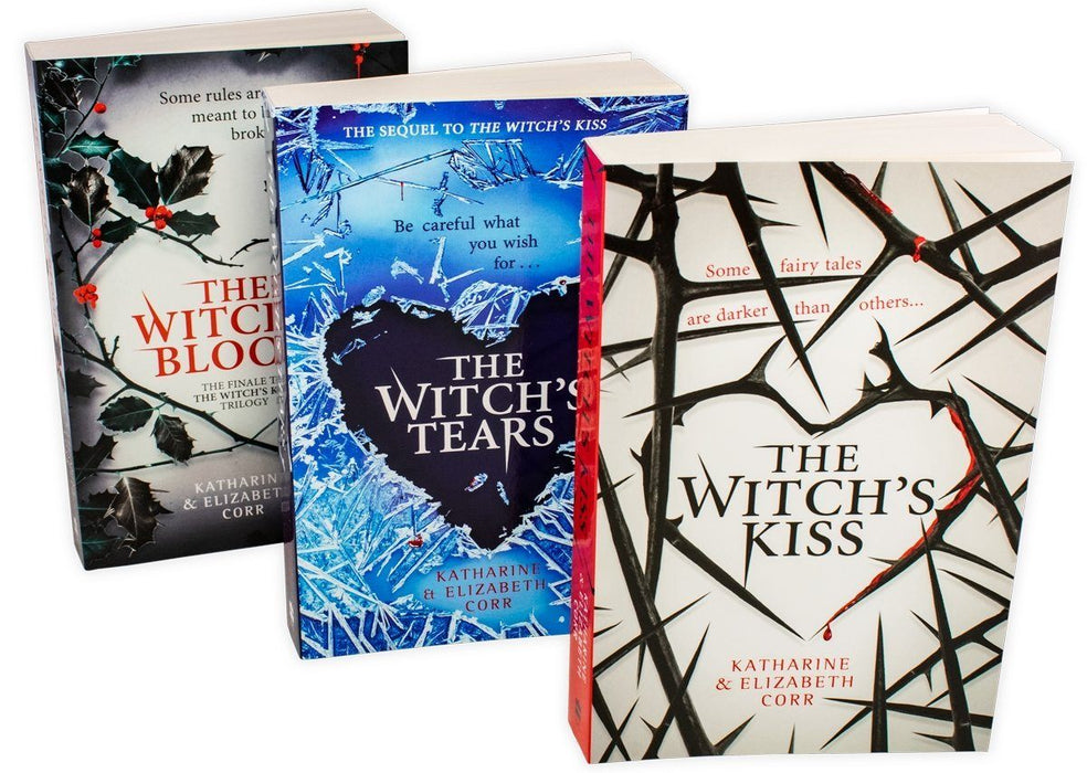 The Witch's Kiss Trilogy 3 Book Collection - Young Adult - Paperback - Katharine & Elizabeth Corr - Books2Door