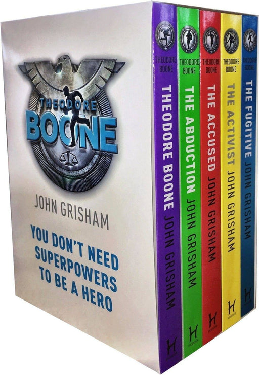 Theodore Boone Series Collection 5 Books Box Set - Mystery - Paperback - John Grisham - Books2Door