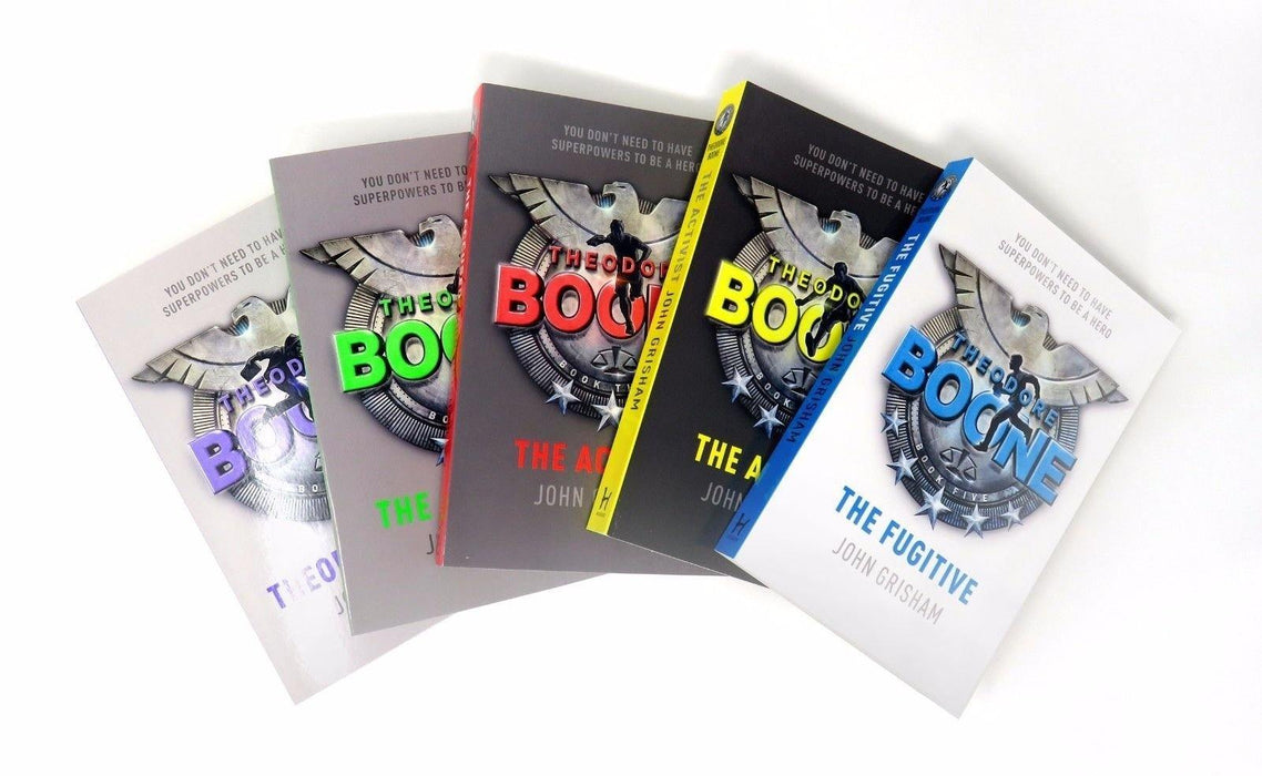 Theodore Boone Series Collection 5 Books Box Set - Young Adult - Paperback - John Grisham - Books2Door