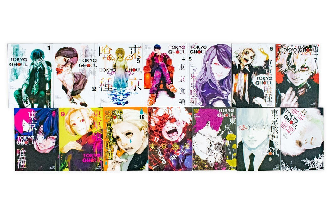 Tokyo Ghoul 14 Book Collection - Young Adult - Paperback - Sui Ishida - Books2Door