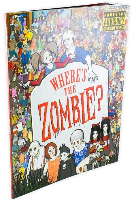 Where's The Zombie? Search and Find Book - Young Adult - Paperback - Jen Wainwright - Books2Door