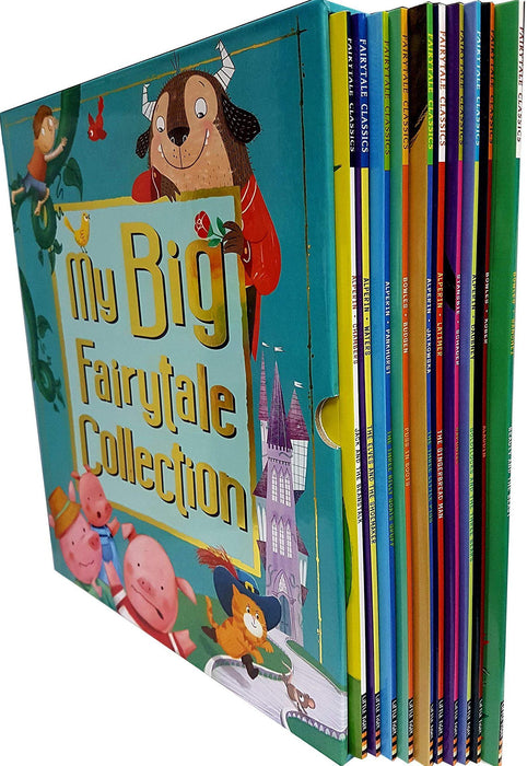 3+ - My Big Fairytale Collection 10 Books Slipcase - Paperback - Age 3+