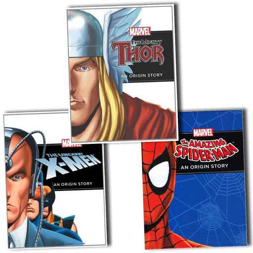 4+ - Marvel An Orignal Story 3 Books - Age 4+ - Paperback