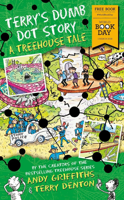 A Treehouse Tale - WBD 2018 - Ages 5-7 - Paperback - Andy Griffiths - Books2Door